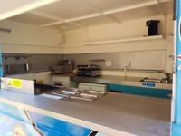 Ready to use catering trailer Suffolk