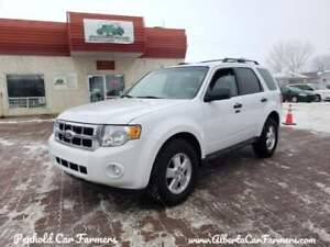 * 2012 FORD ESCAPE XLT 4X4, 6 MONTH WARRANTY & INSPECTION INC *