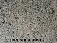 Crusher Dust - Base Gravel - Masonry Sand - Crushed Rock & More