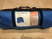 Annex utility tent - great for extra storage - used once very good condition. Height 2m
