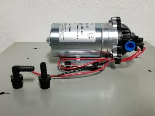 SHURFLO PUMP 8009-543-236 12VDC 7AMPS 1.8 GPM