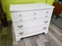 White Chest Of Drawers - Can Deliver For £19