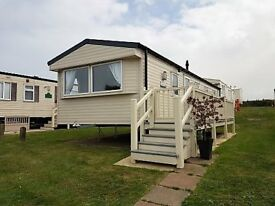 WILLERBY 2018 DECKING DG CH Static Caravan HAVEN 3 bed 37x12 Site Fees Included Filey Scarborough