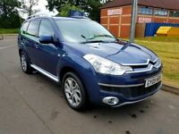 Citroen C Crosser SUV 4x4 7 seater 1 owner FSH low miles diesel manual