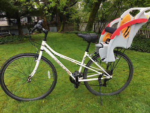 KHS Family bike with baby seat attached - excellent condition