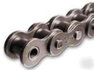 #100-1R X 10FT Riveted Roller Chain With 1 Connecting Link (#100) 1 1/4