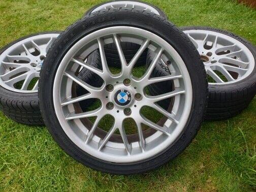 """18"""" BMW CSL STYLE ALLOY WHEELS 5x120 E36 E46 E90 E39 E60 ..."""