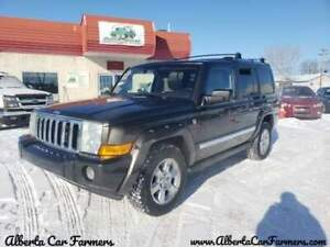 *2006 JEEP COMMANDER LIMITED, 7 PASSENGER, WARRANTY & INSPECTION