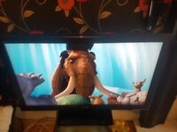 """42"""" FHD TV WITH FREEVIEW HAS REMOTE HAS HDMI PORTS AND USB PORTS"""
