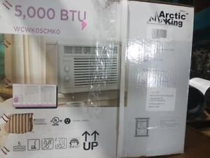 Arctic King 5,000 BTU Window Air Conditioner with Mechanical Con