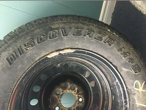 245/70 R17 Winter Tires with Rims - Cochrane