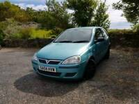 Corsa 1.2 spares repairs. Offers.