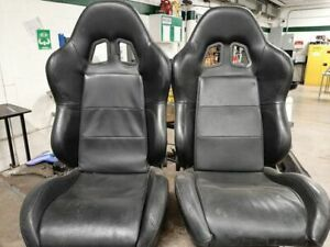Leather Seats with optional 5 point harness connections.