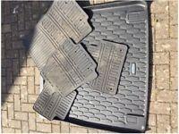 Genuine Jaguar Sportbrake rubber mats and boot liner