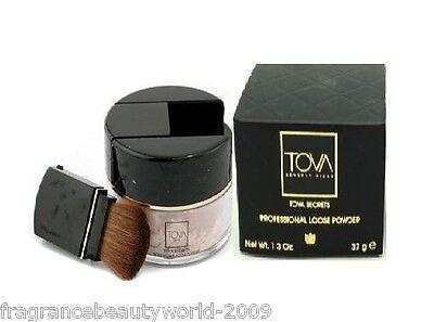 Tova Secrets Professional Loose Powder Color Peach Glow 1.3 Oz 37 In Box