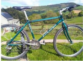 Saracen Mountain Bike - Suits teenager or adult for commuting/leisure rides incl Mudguards