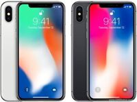 IPhone X 64GB Space Gray & Silver Unlocked Seal Packed