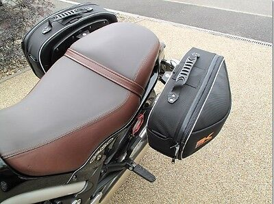 MOTO GUZZI GRISO PANNIERS KRAUSER STREET SOFTBAGS FIT ALL GRISO