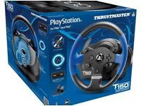 Thrustmaster t150 PS4 racing wheel
