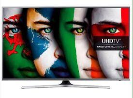 "50"" Samsung 4K UHD SmartTV with Wireless Sound Bar & wireless Subwoofer"