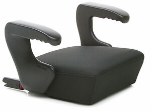 Clek-2012-Ozzi-Booster-Seat-With-LATCH-in-Licorice-Brand-New