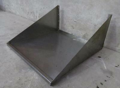 24 X 24 Stainless Steel Commercial Microwave Oven Wall Mount Shelf