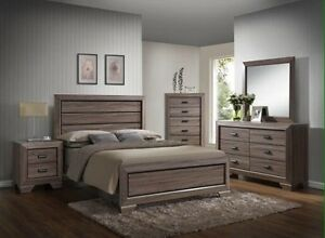 Brand new 5 pc bedroom set $848 only FREE DELIVERY+SETUP