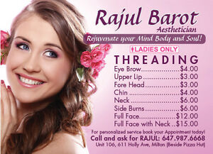 Esthetic services,Threading Waxing@ resonable rate in Milton Oakville / Halton Region Toronto (GTA) image 5
