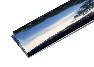 20ft of 3/4 Chrome T-Molding for Arcade Games, Mame Machine, or Cabinets
