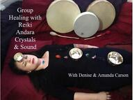 Reiki, Crystals & Sound Group Healing