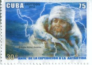 2012 Cuba Stamp Postage 30th Anniversary First Cuban Expedition