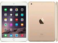 iPad mini 3 Gold 64Gb New and sealed unboxed.