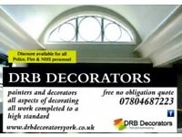 YORK and SURROUNDING PROFESSIONAL PAINTER AND DECORATORS OVER 23YRS EXPERIENCE
