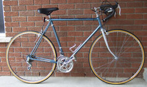 Nice 10-speed racer with a 23-inch frame to suit a tall rider