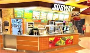 Toronto Downtown Subway Franchise For Sale