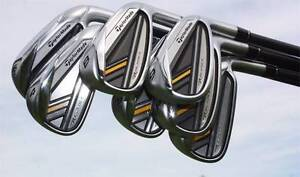 R/H Iron Set - Taylormade Rockebladez - Steel Shafts 4 Iron to PW Collingwood Yarra Area Preview