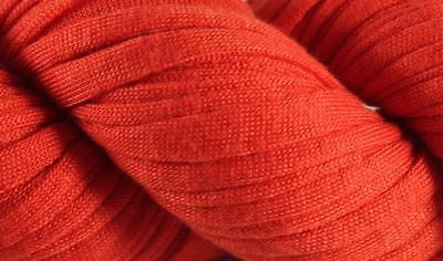 Used, Recycled T-Shirt Yarn- Red for sale  Lawrenceville