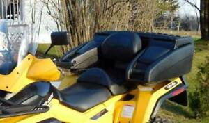 Can Am Outlander Rear Storage Box Heated Handgrips & Rear Lights