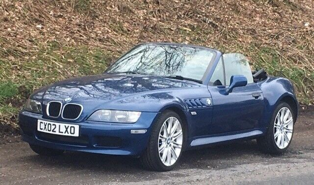 Bmw Z3 Roadster 1 9i 2002 Convertible In Dunfermline Fife Gumtree