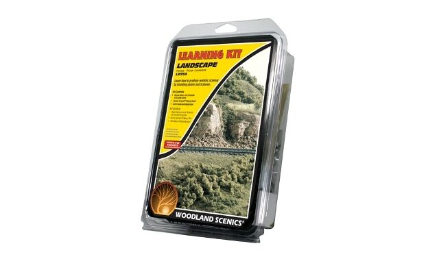 Woodland Scenics LK954  Landscaping - Learning Kit