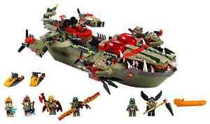Cragger Command Ship LEGO 70006 Chima retired set NEW