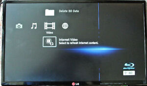 """LG 24MP56HQ-P 24"""" LED Monitor - NO STAND, BLUE VERTICAL LINE"""