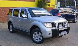 2005 Nissan Pathfinder R51 TI Silver 5 Speed Automatic Wagon Upper Ferntree Gully Knox Area Preview