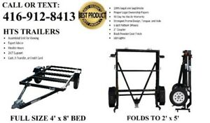 Utility Trailer (2K LBS CAPACITY) New in Box or Assembled