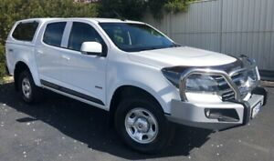 2017 Holden Colorado RG MY17 LS Pickup Crew Cab Summit White 6 Speed Manual Utility Devonport Devonport Area Preview