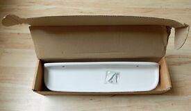 White Ceramic Shelf 50 cm New with fixings . shower cubicle . over bath . Ideal Standard E935001
