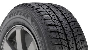Bridgestone Blizzak WS80 16inch Winter Tires