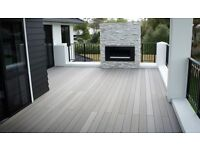 Composite decking supplied and fitted from £42 m2