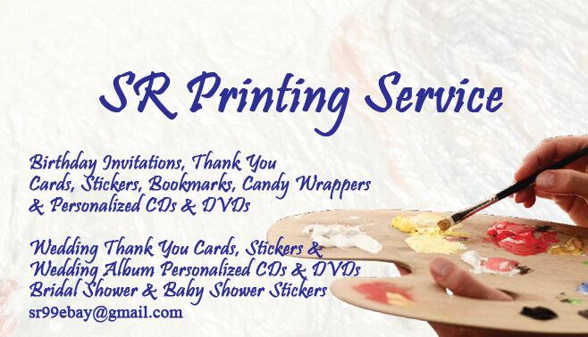 SR Printing Service
