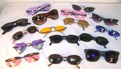 12 BULK LOT SUNGLASSES mens women glasses eyewear sunglass CHEAP PRICE wholesale